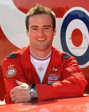 Image: Red Arrow pilot J