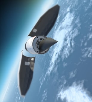 Image: Falcon hypersonic HTV-2