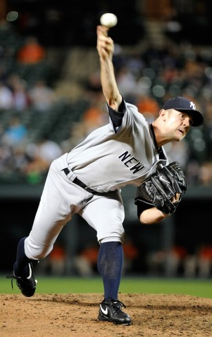 Image: New York Yankee David Robertson