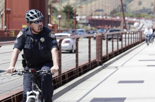 Image: Golden Gate Bridge Patrol officer