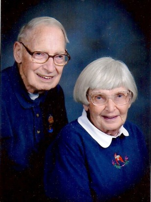 Image: Herb and Elaine Stevens
