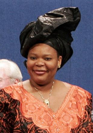 Image: Leymah Gbowee in 2009