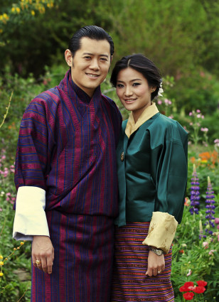 Image: Jigme Khesar Namgyal Wangchuck, Jetsun Pema