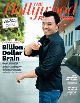 Image: Seth MacFarlane on the cover of The Hollywood Reporter