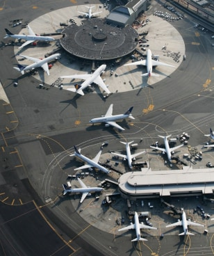 Image: Newark International Airport