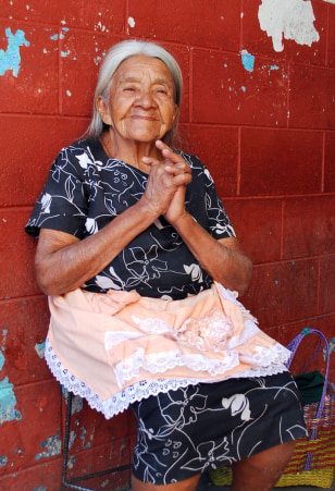 Image: Woman in Central America
