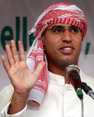 Image: Saif al-Islam Gadhafi