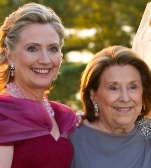 Image: Hillary Clinton, Dorothy Rodham