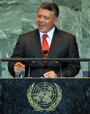 Image: Jordan's King Abdullah