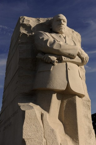 Image: Stone of Hope at the Martin Luther King, Jr. National Memorial