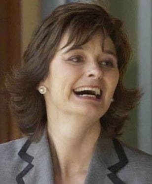 Image: Cherie Blair, wife of former British Prime Minister Tony Blair