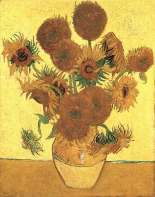 "Image: Van Gogh's ""Sunflowers"""