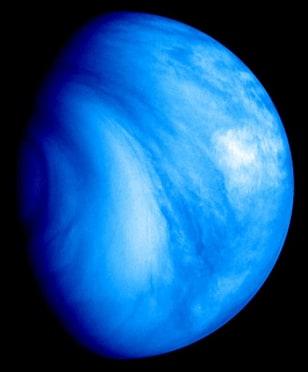 Image: Venus' southern hemisphere