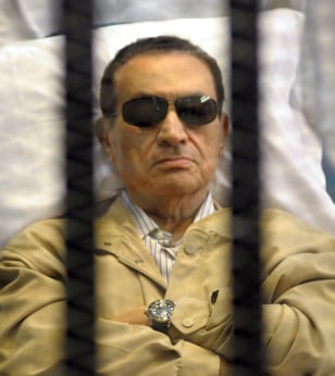 Image: Hosni Mubarak sentenced to life over protester deaths