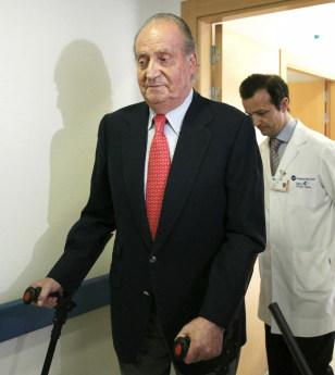 Image: Spain's King Juan Carlos