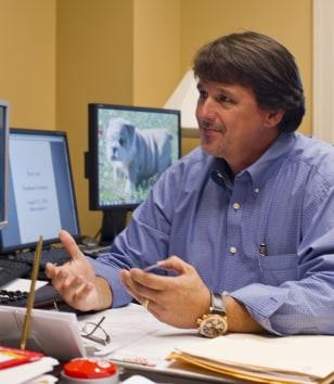 Image: Danny Spreitler, executive director of the Gilmore Foundation