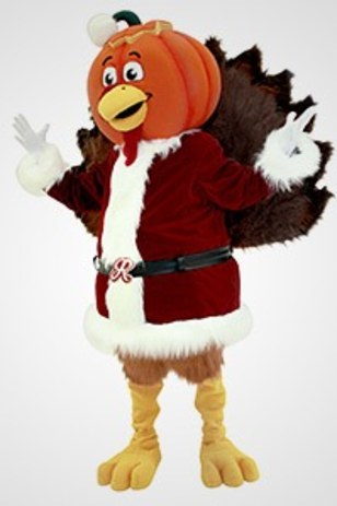 Image: Pumpkin-Headed Turkey Claus