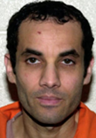 "Image: FBI photograph of convicted ""Millennium Bomber"" Ahmed Ressam"