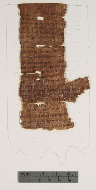 "Image: The ""Nash Papyrus"""