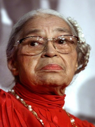 Image: Civil rights heroine Rosa Parks