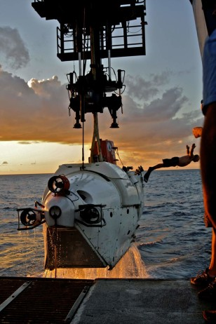 Alvin, which can ferry three people into the deep sea, has made 4,664 dives in its 50-year career.