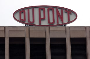 Image: DuPont sign atop company building