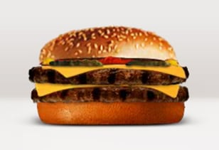 Image: Burger King Kids' Double Cheeseburger