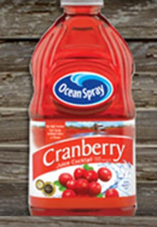 Image: Ocean Spray Cranberry juice cocktail