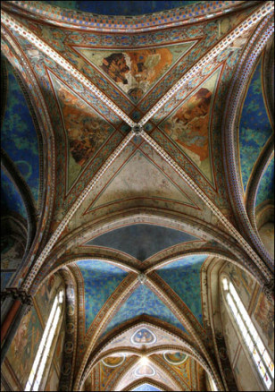 Image: Basilica's ceiling