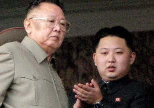 Image: Kim Jong Il with son Kim Jong Un