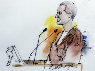 Image: Sketch of Jared Loughner