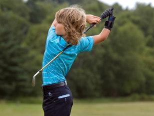 Golfing prodigy Ian Millar