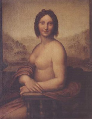 Image: Nude Mona Lisa?