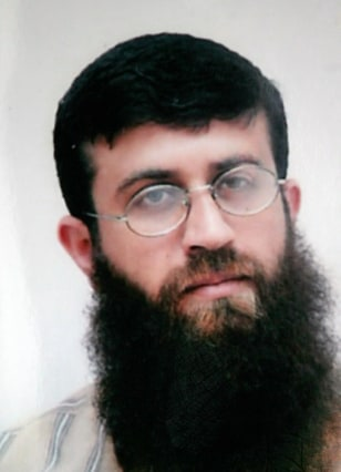 Image: Khader Adnan, in an undated family handout