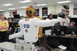 Image: Robot astronaut