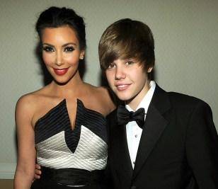 Image: Kim Kardashian, Justin Bieber