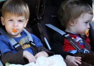 Image: Charlie Sheen's twin boys