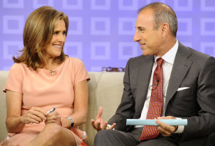 "Image: ""Today"" show co-host Matt Lauer talks about his favorite ""meredith"" moments on the ""Today"" show"