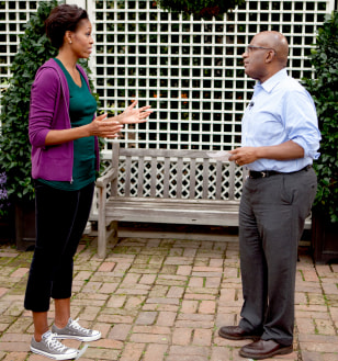 Image: Michelle Obama and Al Roker