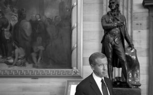 Image: NBC's Brian Williams at the Capitol in Washington, D.C.