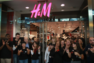 Image: Grand opening of an H&M store