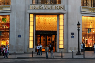 Image: Louis Vuitton store in Paris
