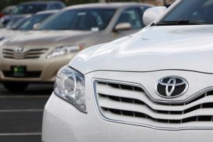Image: 2010 Toyota Camry sedans
