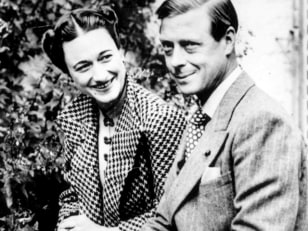 Image: The Duke and Duchess of Windsor, formerly King Edward VIII and Wallis Simpson