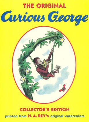 "Image: Cover of ""The Original Curious George"""