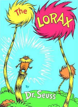 "Image: Cover of ""The Lorax"""
