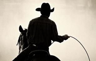 Image: Cowboy wearing cowboy hat