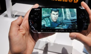 Image: Hand-held video game
