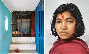 Image: Prena, 14, a domestic worker in Kathmandu, Nepal