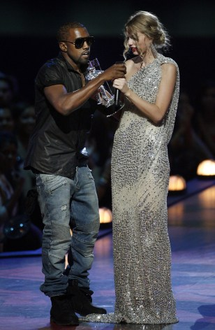 Image: Kanye West, Taylor Swift